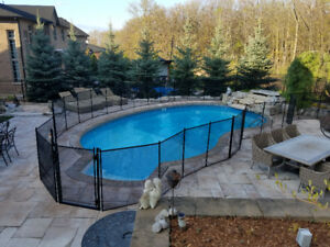 Removable safety pool fence,$10.00/ft,made in USA