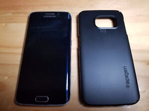 Samsung S6 Edge 64GB (comes with with case)