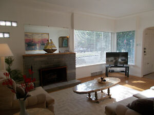 Great FURNISHED KITSILANO HOUSE for Rent-LONG TERM or SHORT TERM