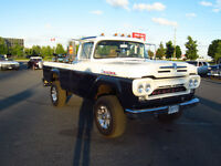 1960 Mercury truck body on a 1991 Dodge 350 diesel Powerwagon