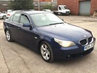 BMW 525 2.5 DIESEL SE,HPI CLEAR,FULL LEATHER,CRUISE,SENSOR,2 OWNER FROM NEW,2KEY