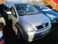 2004 Vauxhall Meriva MPV 1.6 8V Enjoy Petrol silver Manual