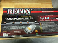 Recon 264146CL LED Cab Roof Lights 2003-2007 Dodge Heavy-Duty