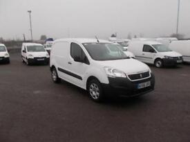 Peugeot Partner L1 850 1.6 BLUEHDI 100 PROFESSIONAL (NON S/S)EURO 6 WHITE (2017)