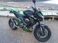 Kawasaki Z800 - 2014 806cc, 2200 Miles
