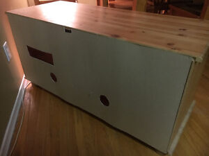 TV stand - wood Kitchener / Waterloo Kitchener Area image 3