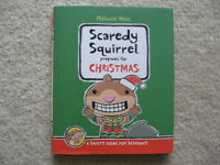 Scaredy Squirrel Prepares For Christmas Hardcover Book