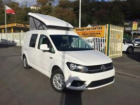 VOLKSWAGEN CADDY MAXI CAMPER ELEVATING ROOF 2.0TDI BMT (white) 2017