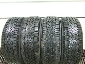 4, 205/65/R15 Studded Winter Tires Strathcona County Edmonton Area image 2