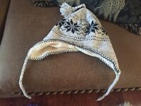 Winter accessories tuque and scarves