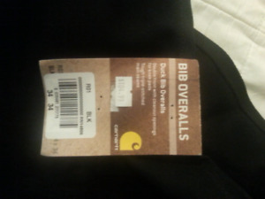 Carhart overalls brand new