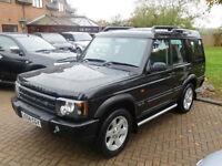 2004 04 Reg Land Rover Discovery 2.5Td5 ES Premium Auto 7 Seats