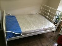 Double Bed ( frame and mattress )