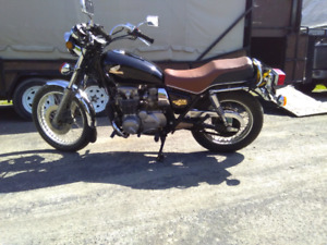 Honda cb650 de 1980 placable antique150$ ou régulière4ou500$