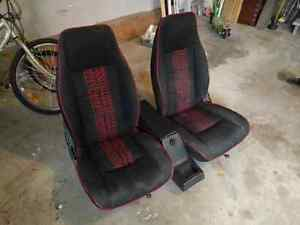 Truck seats for GMC S-15 or Chevy S-10