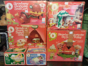 Strawberry Shortcake playsets