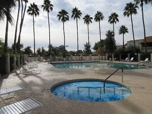 Scottsdale Beautiful 2 bed, 2 bath  pool view