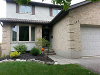 BEAUTIFUL 2 STOREY HOME WITH DOUBLE CAR GARAGE–AVAIL NOV 14