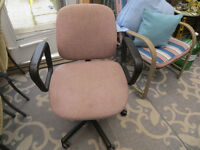 2 office desk chairs $30.00 Each