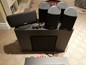 Home entertainment system. OBO