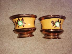 Urn shaped bowls