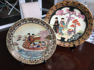 Chinese Hand Painted Decorative Plates