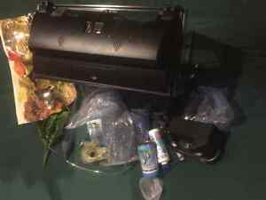 Fish tank with a ton  of accessories Cambridge Kitchener Area image 2