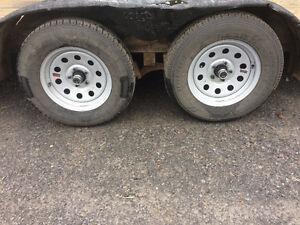 2010 Load Trail Double axles car hauler trailer Cornwall Ontario image 5