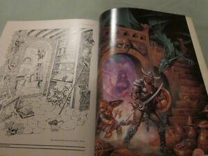 The Art of the Dungeons and Dragons Fantasy Game Paperback 1986 Kingston Kingston Area image 10