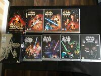 Star Wars DVDs 1-6