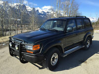 1993 Toyota Land Cruiser VX Limited / Sunroof / very clean