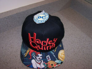 HARLEY QUINN Snapback DC Comics Hat - new with tags