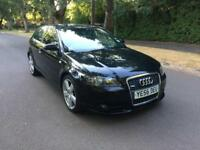 2006 AUDI A3 2.0 TDi S LINE 3 DOORS BLACK 6 SPEED