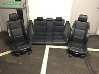 BMW 1 series E87 full leather interior seats m sport 1er e89
