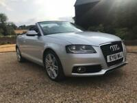 2011 Audi A3 2.0 TDI S Line 2dr [Start Stop] 2 door Convertible