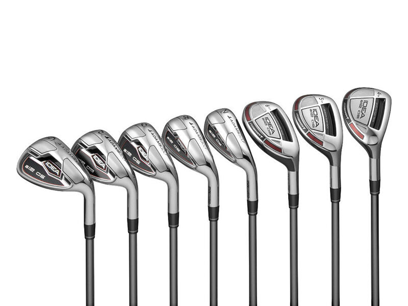 Adams Idea a12OS Graphite Iron Set