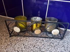 Tealight holder set