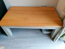 Oak and Grey coffee table