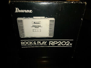 Ibanez RP202 Rock & Play Stereo Cassette Player Bass Guitar