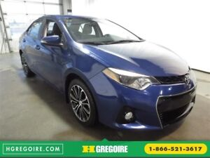 2014 Toyota Corolla S TOIT OUVRANT CAMÉRA BLUETOOTH SIEGES CHAUF