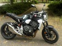 Honda CB1000 R A-J BLACK NAKED STREETFIGHTER 2019 P/EX CAR/BIKE £299 DEPOSIT