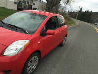 2008 Toyota Yaris CE Hatchback with inspection slip