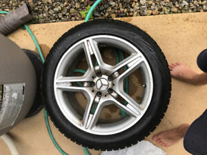 Mercedes 19 inch winter tires and rims