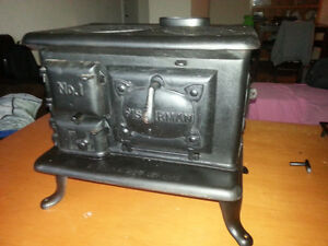 Antique Lunenburg Foundry 1926 Fisherman NO 1 Marine Woodstove