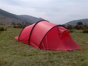 TO TRADE: RED NALLO4 GT HILLEBERG TENT (MINT) for SAME IN GREEN