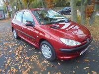 2004 Peugeot 206 1.4 8v ( a/c ) 2004MY S iin red