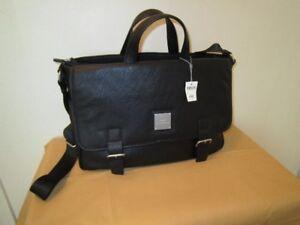 Men's  Lap-top Leather Briefcase