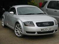 Audi TT Coupe 1.8 ( 180bhp ) T quattro. FULL LEATHER. ONLY 79000M MOT. LOVELY