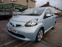2006 TOYOTA AYGO+ 1.0 VVT-I, M.O.T TILL AUGUST 2019, £20 A YEAR ROAD TAX