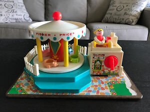 Vintage Fisher Price Musical Merry-Go-Round!